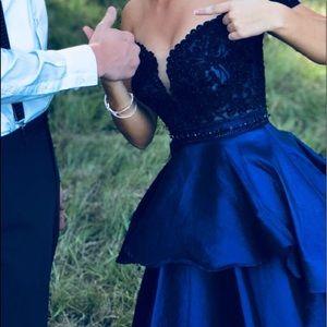 Camille La Vie Dresses - Hoco dress beautiful royal blue